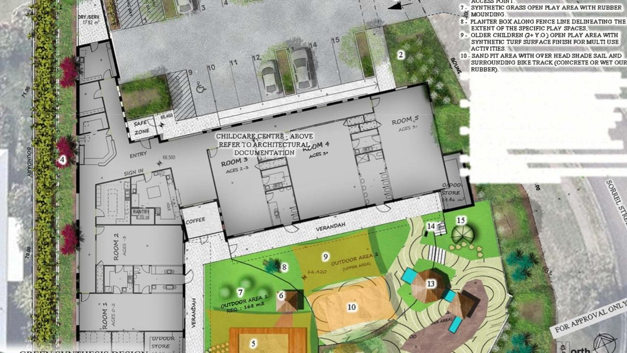 Plans for a the new 83-spot centre.