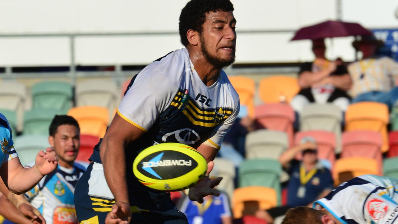 Viliame Kikau turned a lot of heads at the North Queenssland Cowboys.