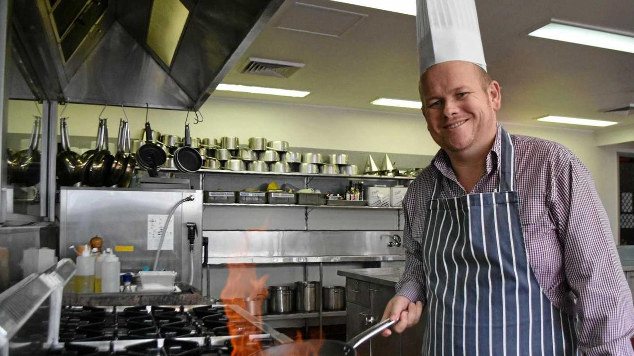 GROWING JOBS: TAFE Chef Jamie Fischer know how the Warwick campus can provide countless job opportunities for growing sectors.