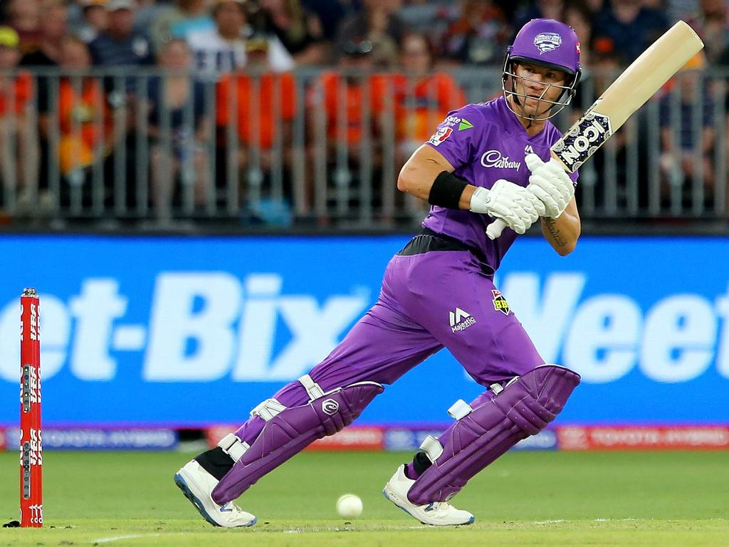 Jake Kroehnert is a fan of D'Arcy Short and the Hobart Hurricanes in the Big Bash League. (Photo by James Worsfold/Getty Images)