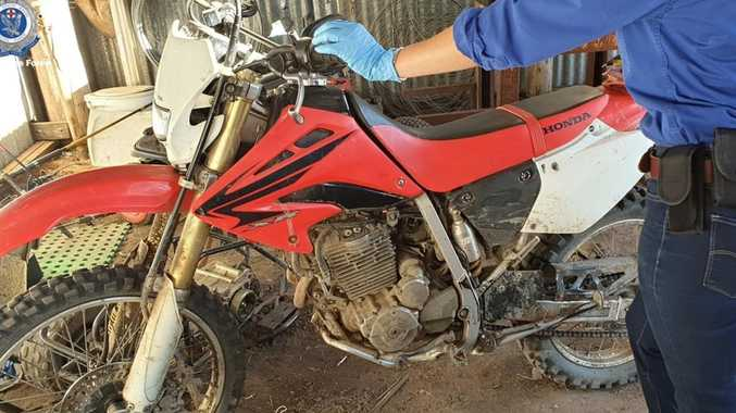 Excavator, paraglider parts stolen in rural crime spree