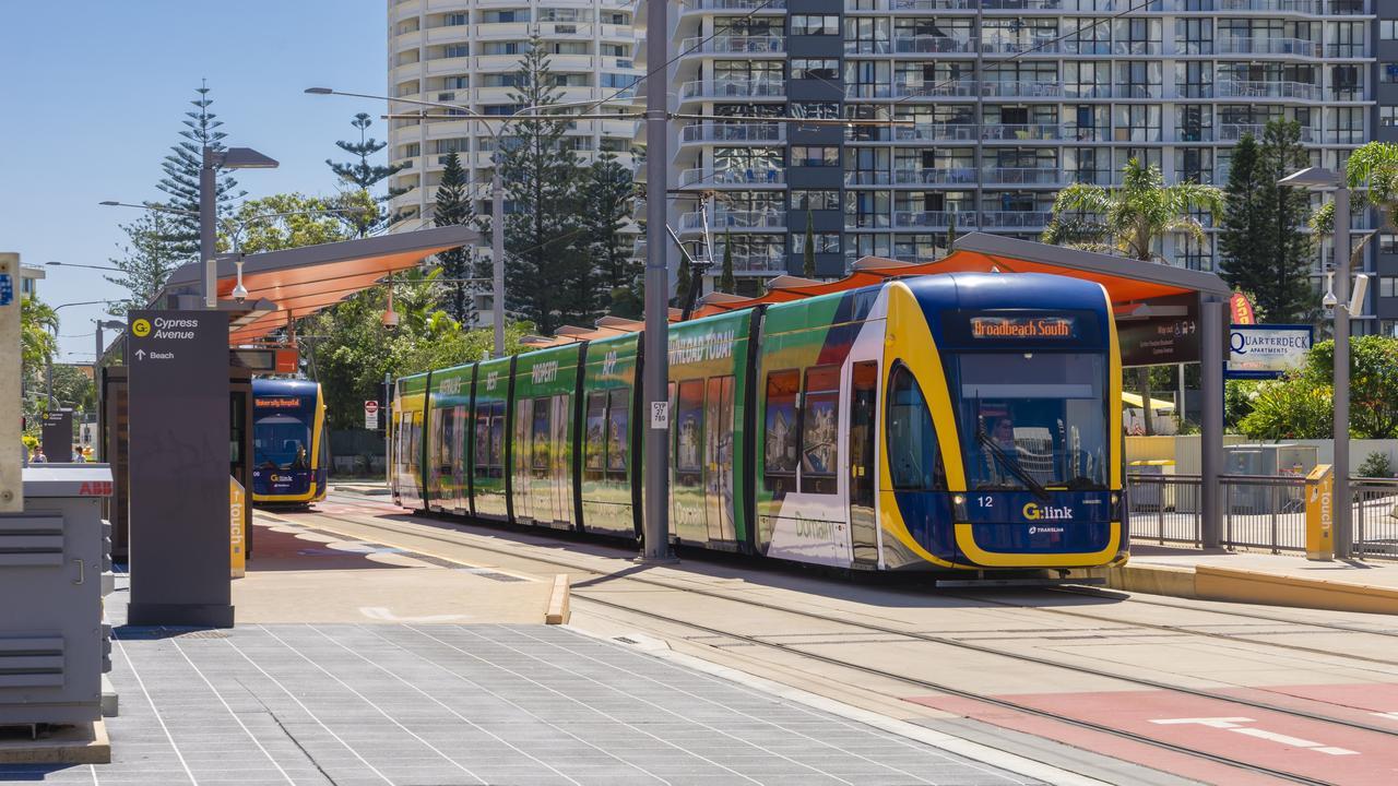 Gold Coast light rail.