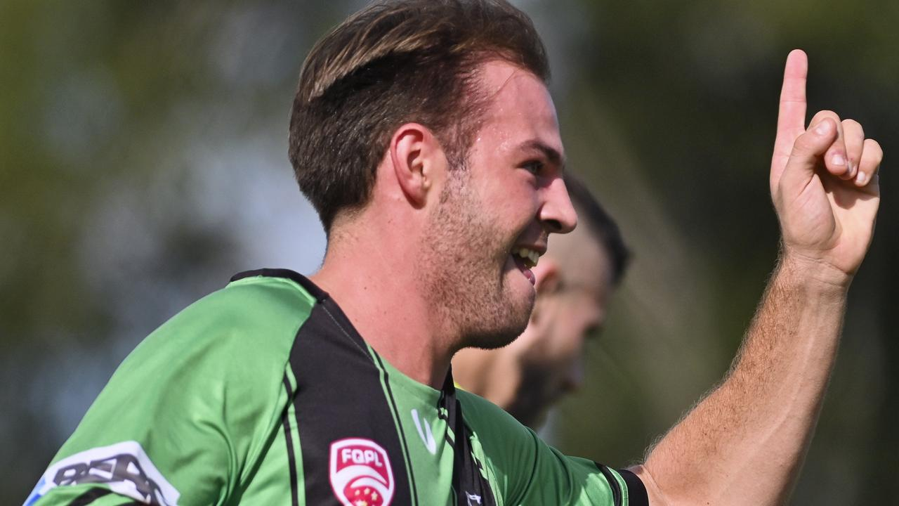 Former Ipswich Knights striker Lachlan Munn was on target to become the league's leading goal scorer. Picture: Cordell Richardson