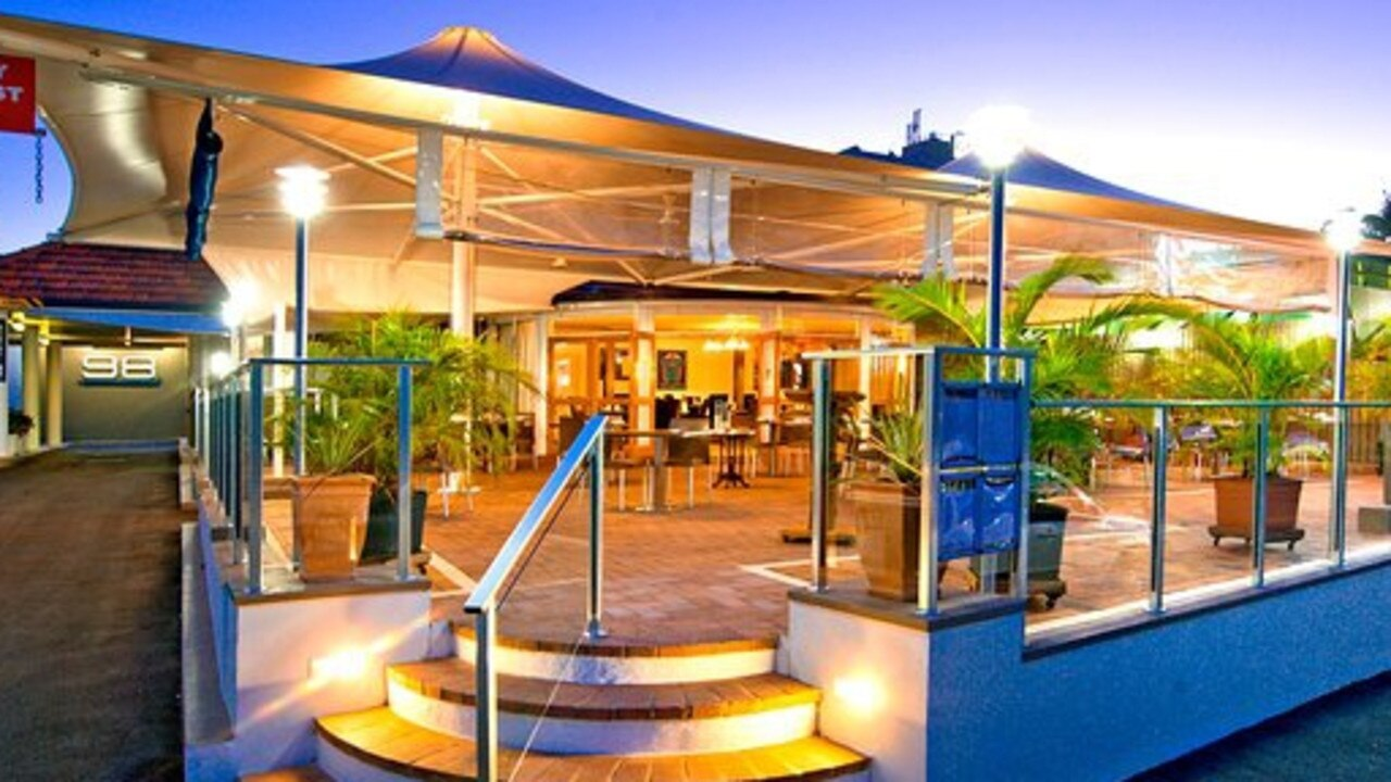 Restaurant 98 overlooks the Fitzroy River on Victoria Parade.