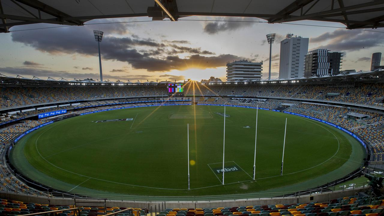 The 2020 AFL Grand Final will be played at the Gabba. Picture: Michael Klein.