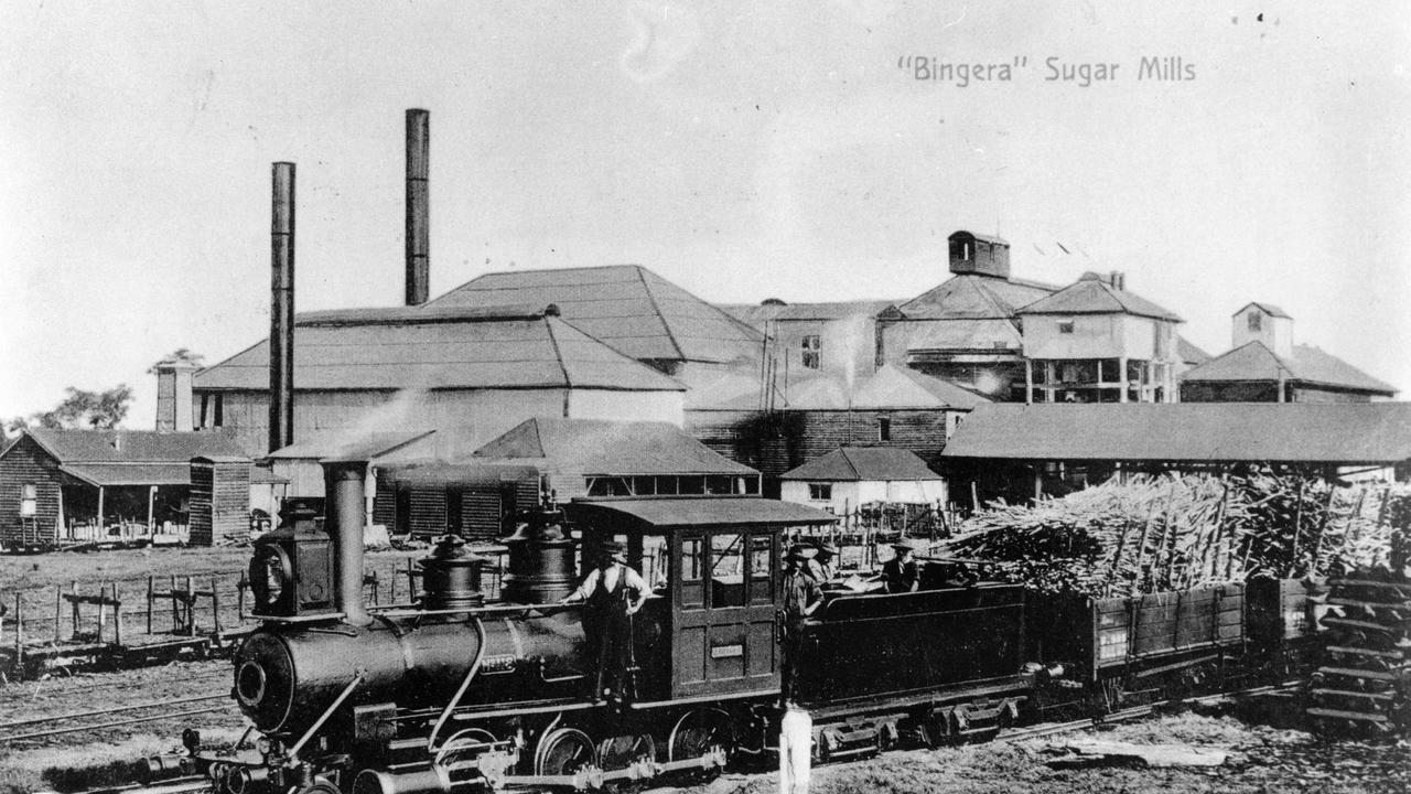 Take a look back at the history of the Bingera Mill. Photo: John Oxley Library, State Library of Queensland Neg: 91104