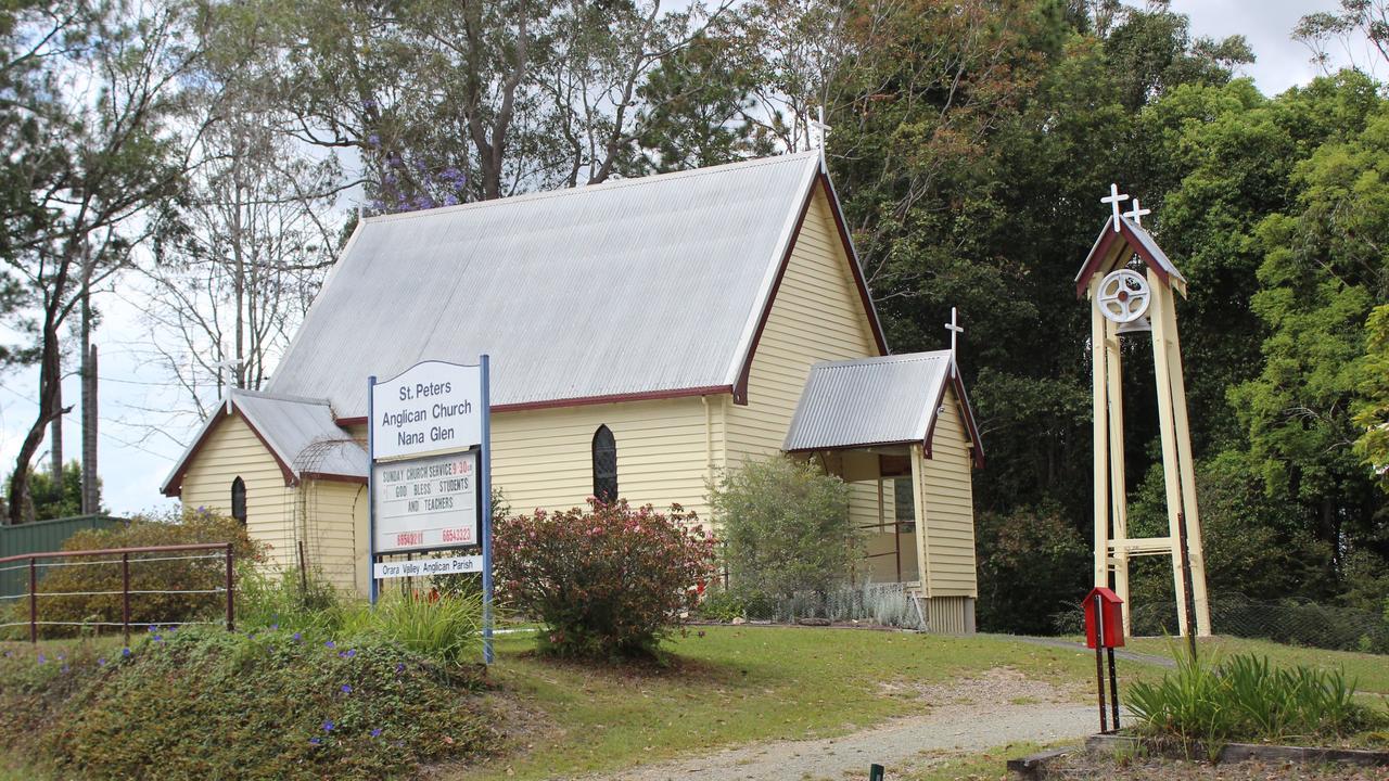 St. Peters Anglican Church at Nana Glen. Photo: Tim Jarrett