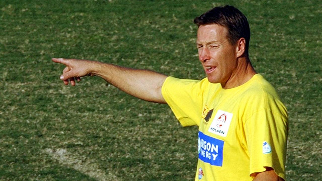 Craig Bellamy was an assistant coach at the Brisbane Broncos in the early 2000s. (AAP Image/Dave Hunt)