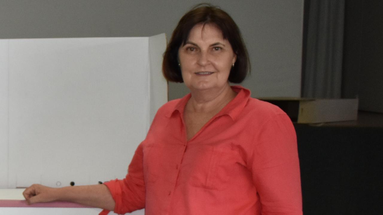 Mackay incumbent Julieanne Gilbert.