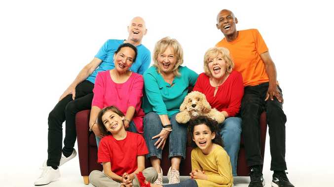 Nannas and Poppas move in on The Wiggles' territory