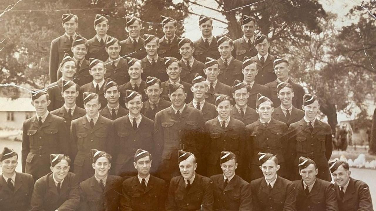 Graduation day at the Royal Australian Air Force in the early 1940s.