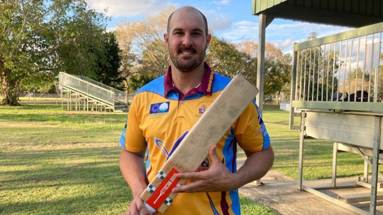 Steven Porta starred with bat and ball for the CQ Centurions in their opening win in the North Queensland Championships today. Photo: Pam McKay