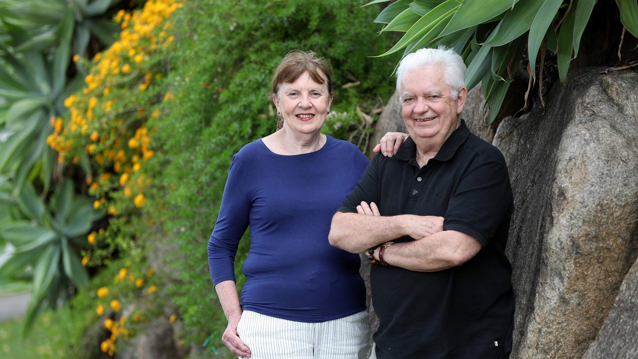 Premier Annastacia Palaszczuk's parents Lorelle and Henry Palaszczuk. Picture: Tara Croser.