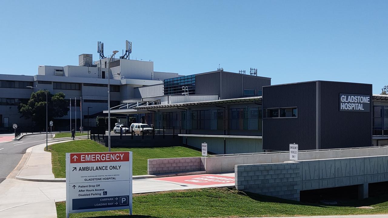 Gladstone Hospital, August 21, 2020. Picture Rodney Stevens