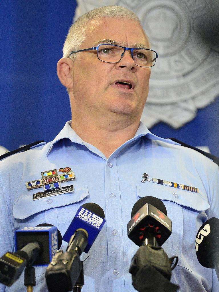 Townsville Chief Superintendent Craig Hanlon. PICTURE: MATT TAYLOR.