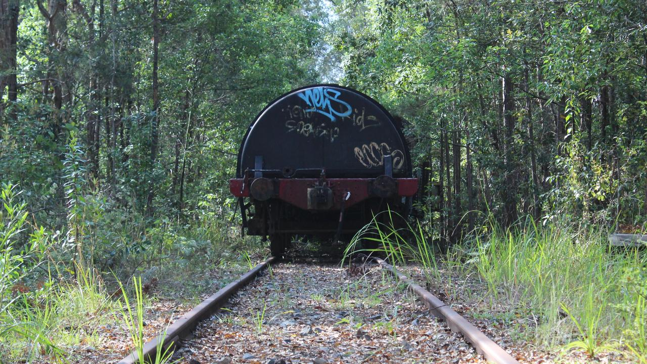 Glenreagh Mountain Railway are hoping to construct a rail trail from Glenreagh to Ulong. Photo: Tim Jarrett