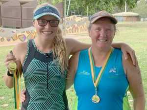 Mother, daughter take on Rocky Triathlon
