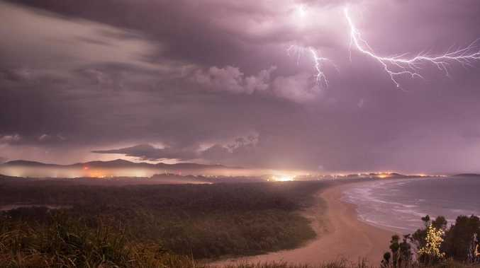 Bureau issues Wide Bay Burnett thunderstorm warning