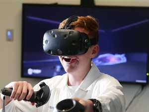 Virtual reality program helping Dalby students soar