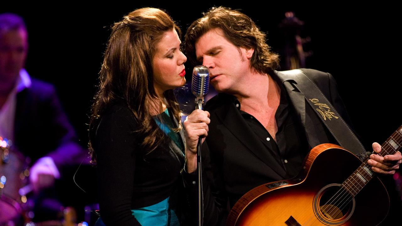 Tex Perkins and Rachael Tidd in The Man In Black: The Johnny Cash Story