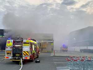 Structural damage a concern after fire in business hub