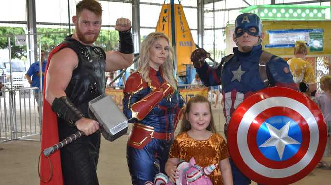 GALLERY: Children's fantasy world comes alive in Mackay