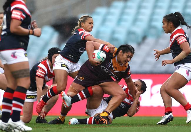 Amber Hall of the Broncos won the Karyn Murphy Medal.