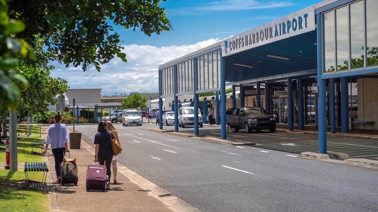 Coffs Harbour Airport.