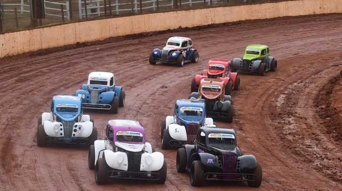 WET & WILD: Pics of the action from Maryborough Speedway