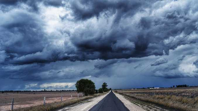 Severe storm warning issued for Western Downs