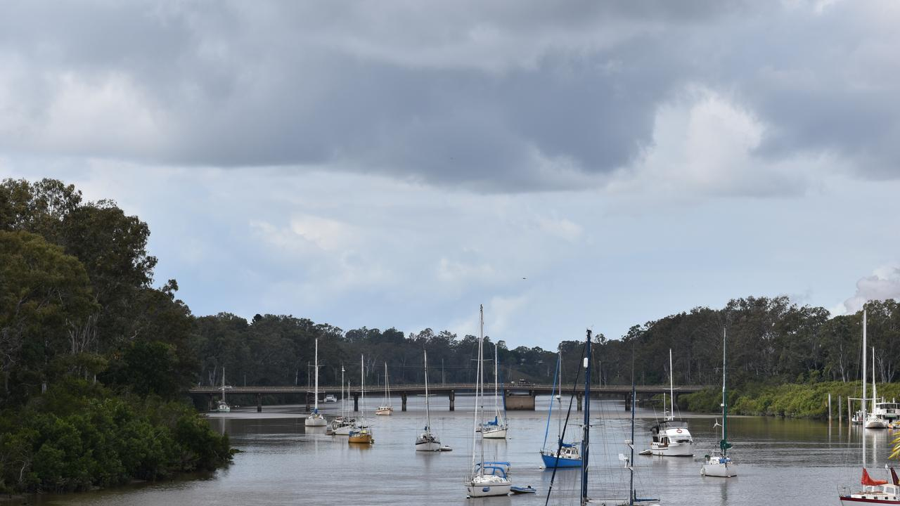 WEATHER: Cloudy skies over the Mary River. Photo: Stuart Fast