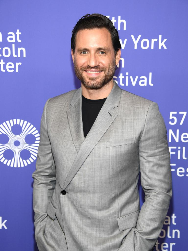 Edgar Ramirez attending the 57th New York Film Festival in 2019.