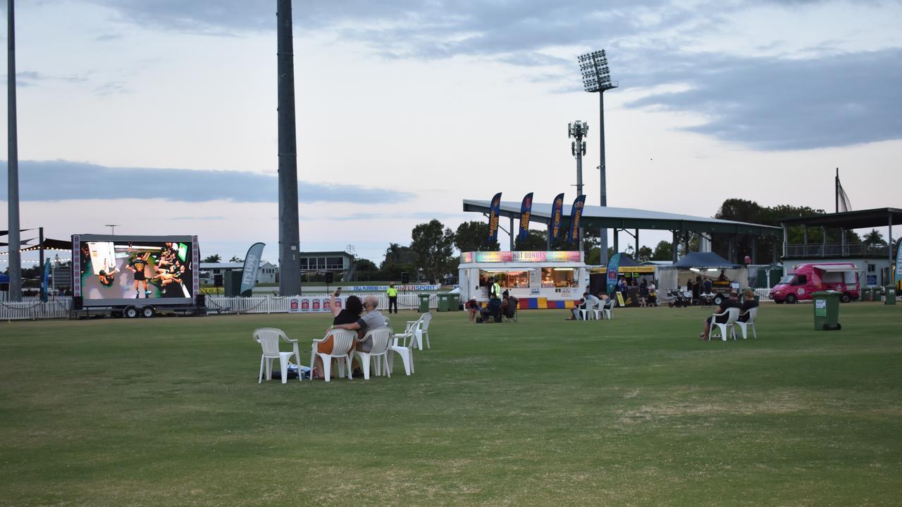 Lacklustre numbers at Footy Festival AFL grand final event at Harrup Park