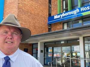 Hospital becomes battleground in Maryborough election