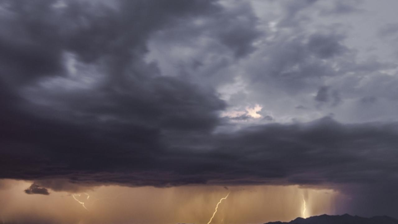 Storm thunderstorm rain weather Townsville generic