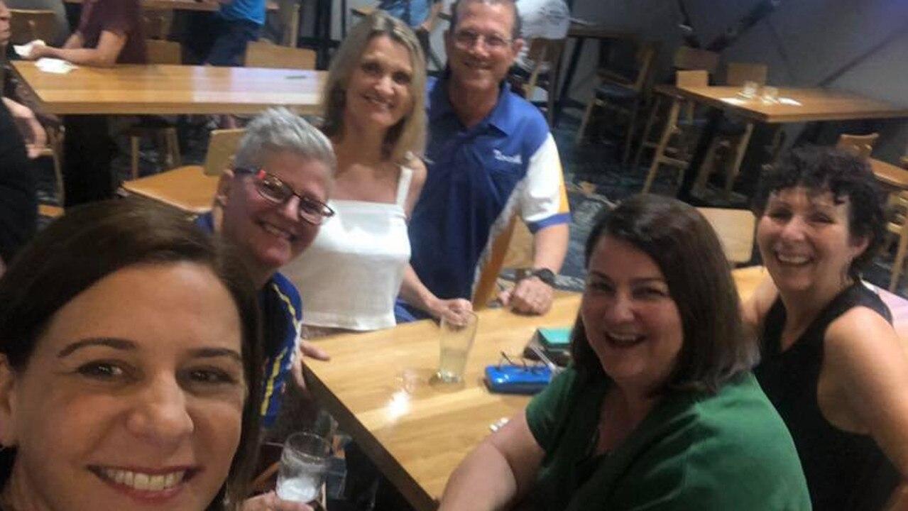 LNP Leader Deb Frecklington watched the AFL Grand Final from Bundaberg last night. Photo: Facebook