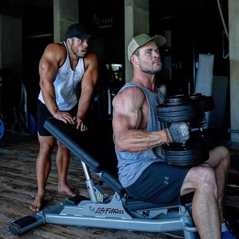 "Ross Edgley has been working on a ""special project"" with Chris Hemsworth for months. Picture: Instagram/RossEdgley"