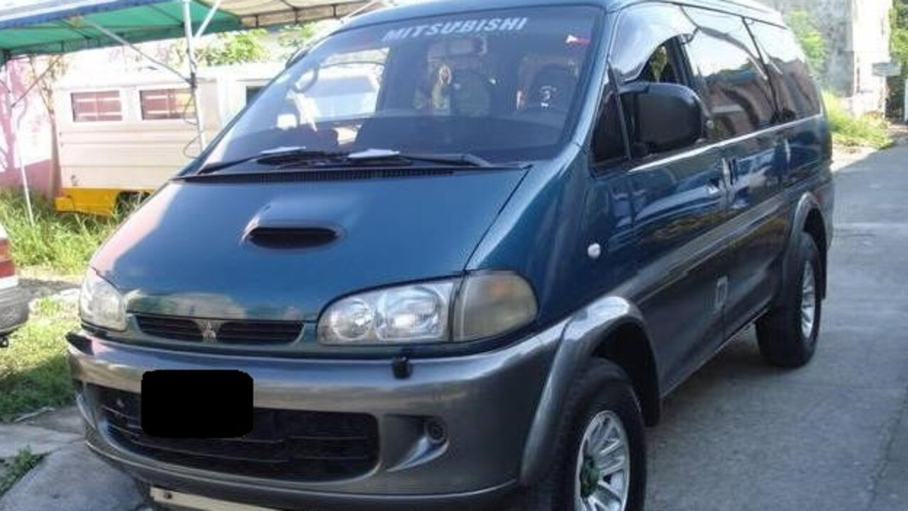 NSW Police released this image of a late 1990s model Mitsubishi Delica L400, believed to be involved in the death of Mullumbimby man, Tim Watkins.