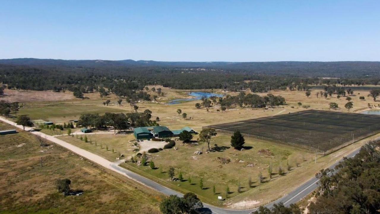 Robert Channon Wines, based in Amiens near Stanthorpe in the Granite Belt, is for sale for $3.85m.