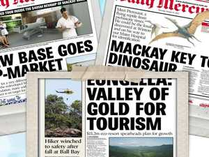 Flashback: What was making the front pages 10 years ago
