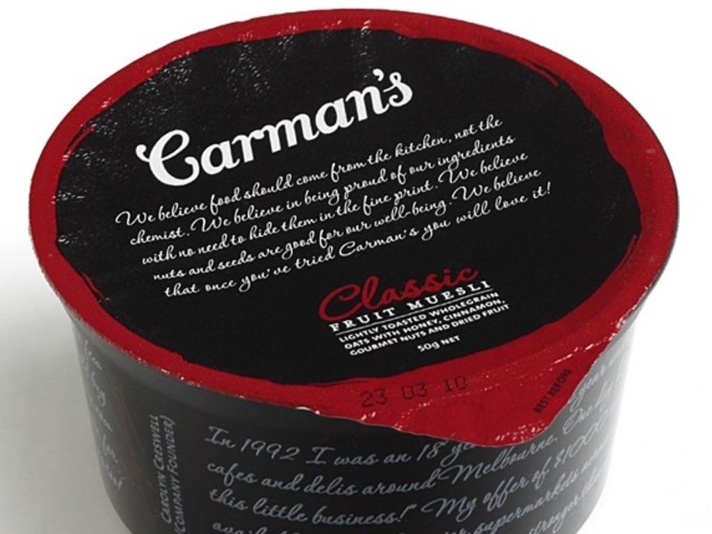 Carman's muesli.