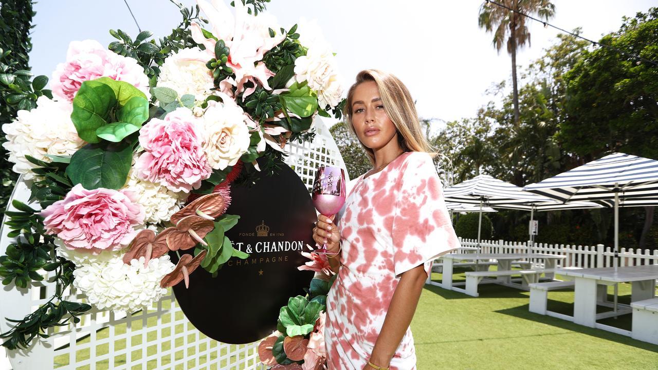 Ruby Tuesday Matthews at the Moet and Chandon fashion lunch held at The Star Gold Coast. Photograph: Jason O'Brien