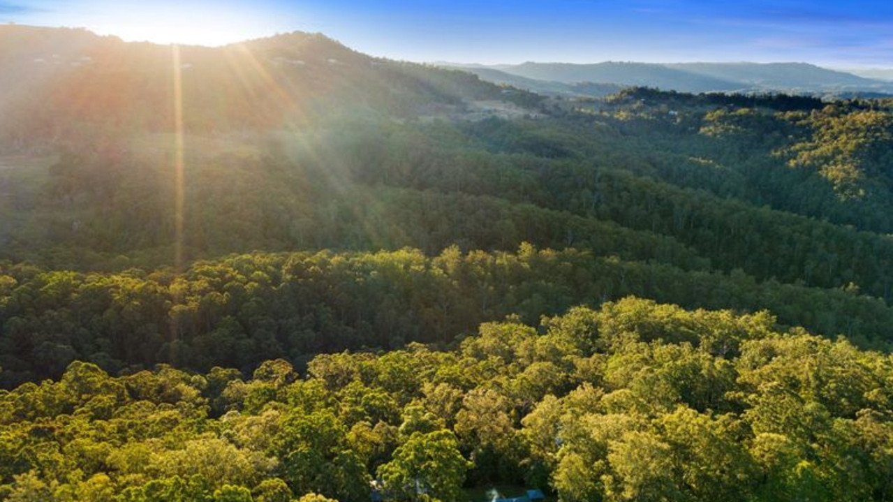 The Veronicas' property is in the beautiful Sunshine Coast hinterland.