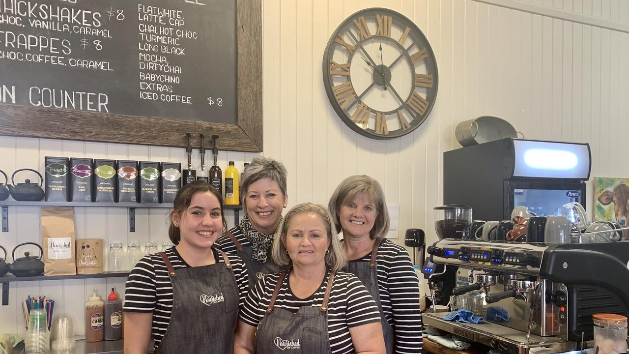 BUSY: The team at Nourished Cafe Gayndah are busier than ever, despite the off-season and border closures. Picture: Kristen Camp