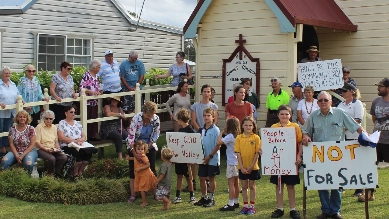 Residents from around the Orara Valley are united in their opposition to the Anglican Diocese of Grafton's decision to close churches at Glenreagh and Coramba. Photo: Tim Jarrett