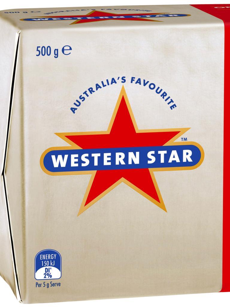 Western Star butter.