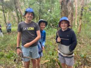 KIDS OF SPIRIT: New meaning for a 'school' camp