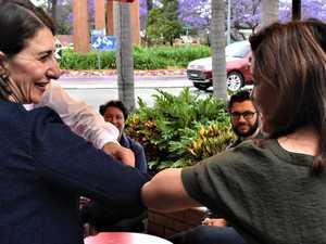 50+ PHOTOS: NSW premier visits Jacaranda City