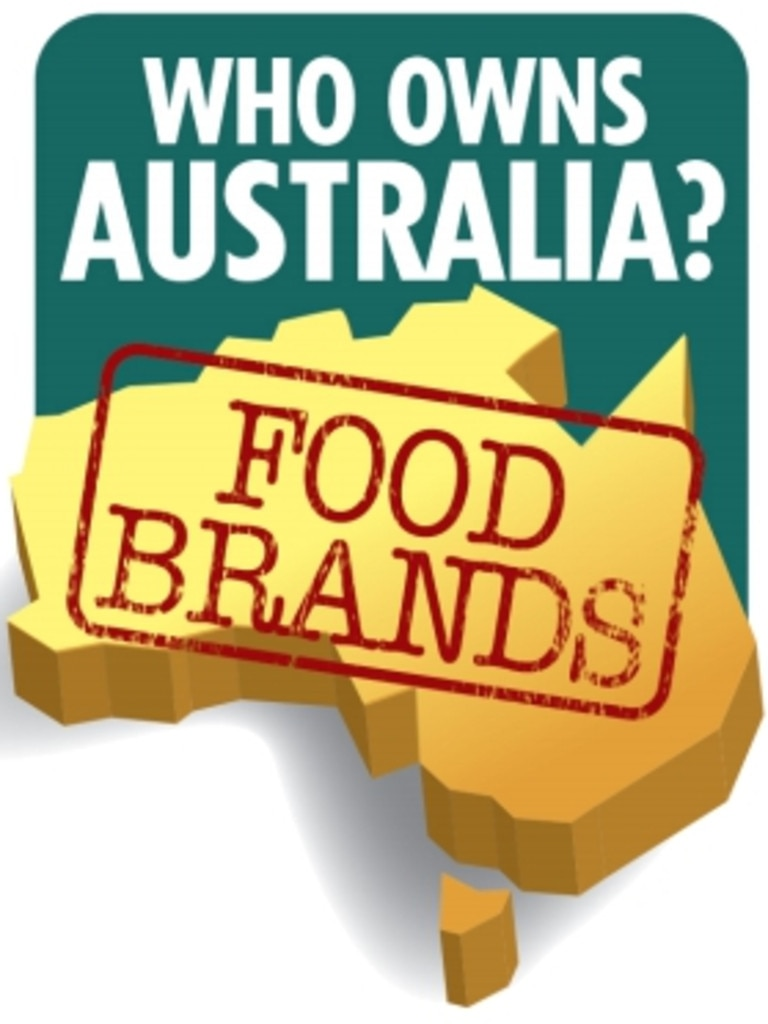 Most iconic Aussie food brands are now foreign owned.