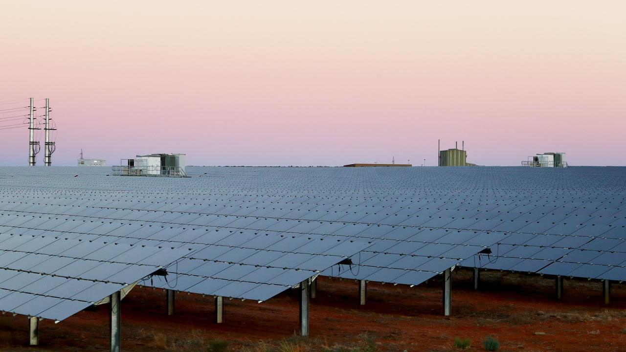 GREEN ENERGY: Chinchilla to be home to Australia's biggest solar farm. Pic: Hollie Adams/The Australian